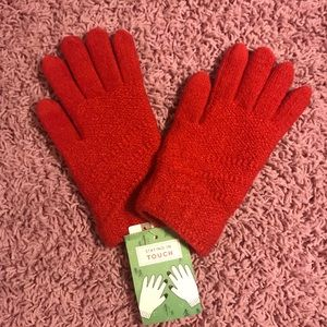 Anthropologie touch screen gloves